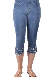 Ethyl Palmdale Capri pull on jean - Product Mini Image
