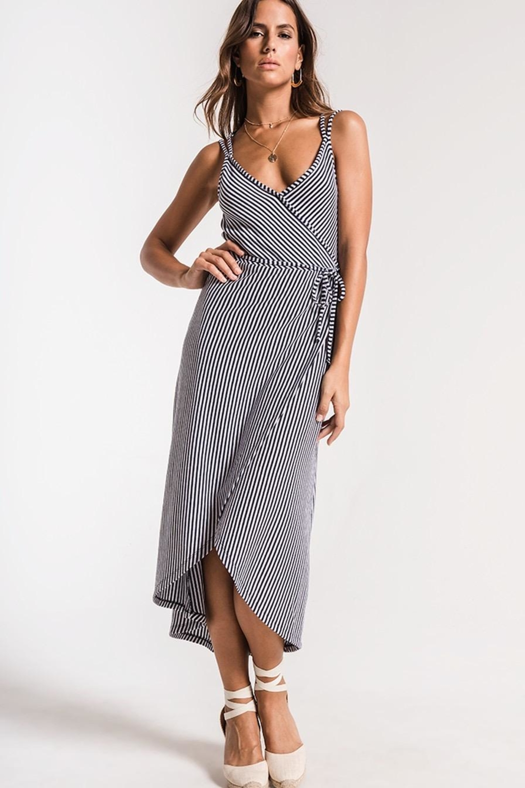 Zsupply Capri Wrap Dress - Front Cropped Image