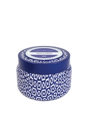 Capri Blue Tropicalfruits Travel Candle - Front cropped