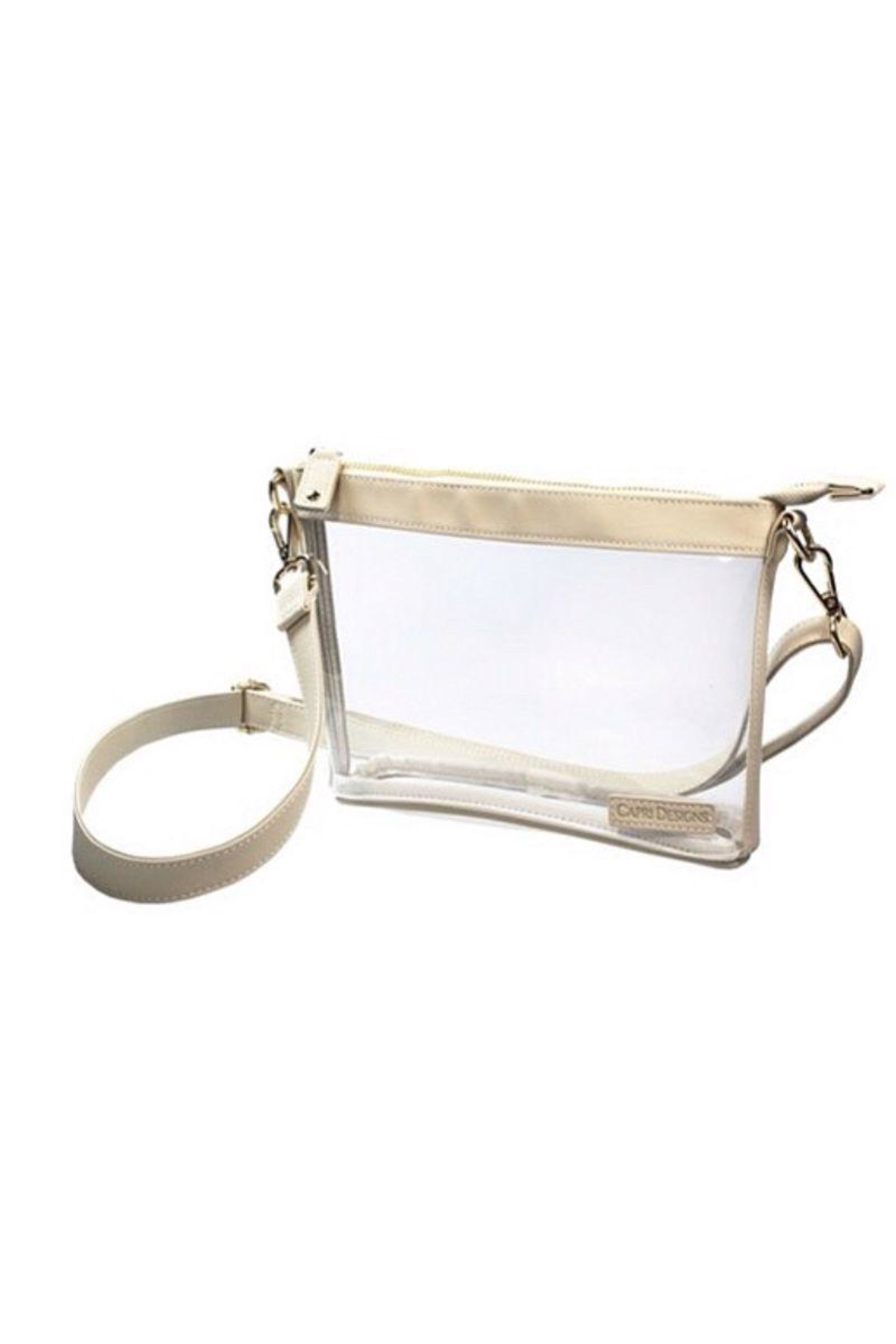 Capri Designs Clear Fashion Crossbody - Front Cropped Image