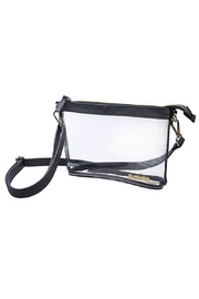 Capri Designs Clear Fashion Crossbody - Front cropped