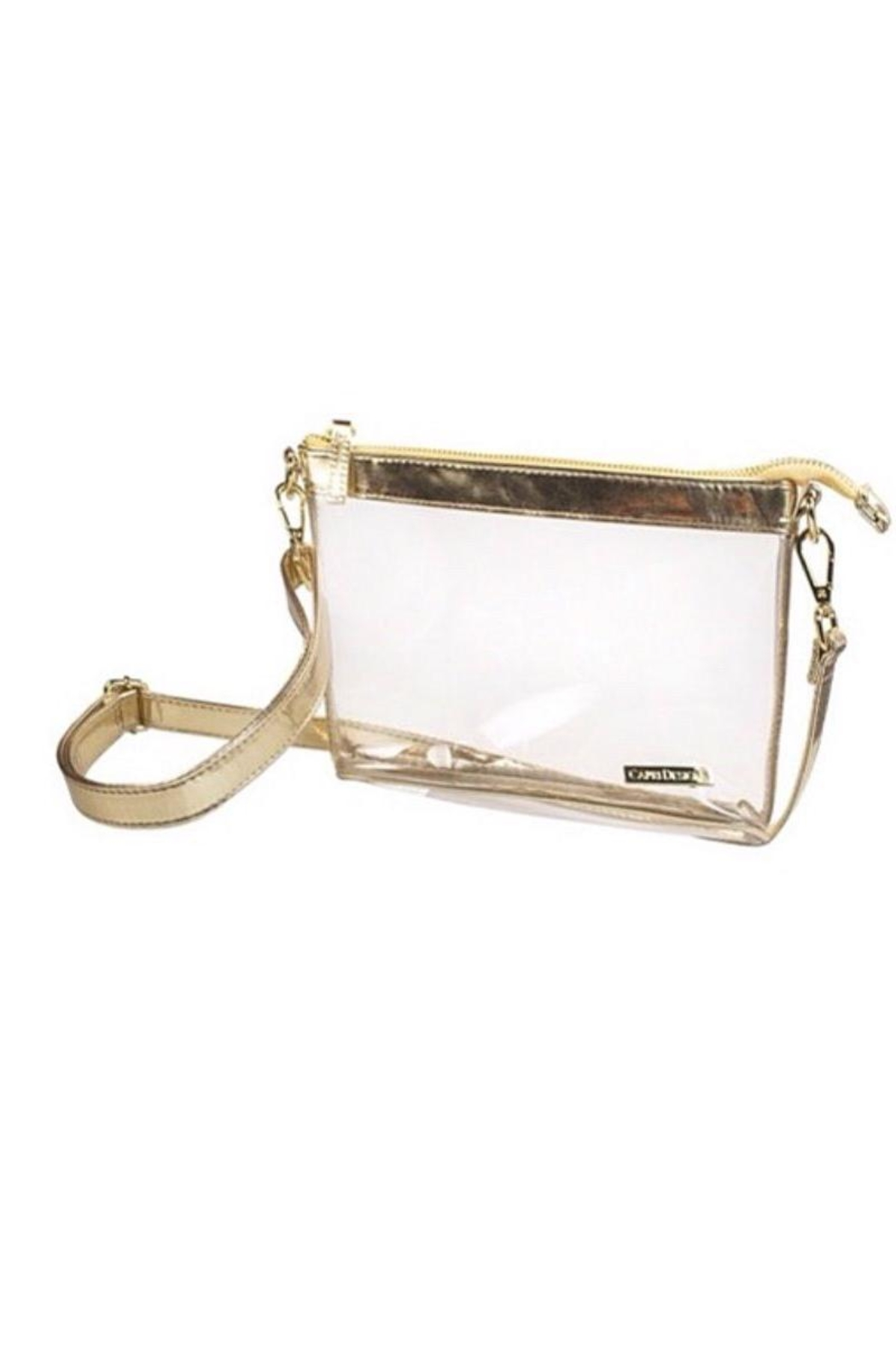 Capri Designs Clear Fashion Crossbody - Main Image