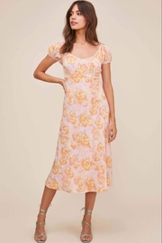 ASTR the Label Caprice Floral Midi Dress - Product Mini Image
