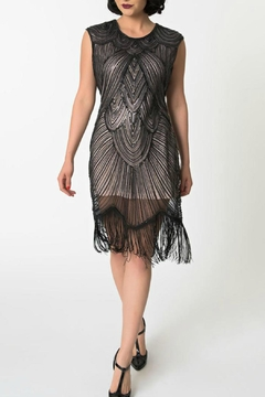 Shoptiques Product: Capsleeve Flapper Dress