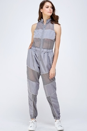 Capsulle Reflective Mesh Jumpsuit - Product Mini Image