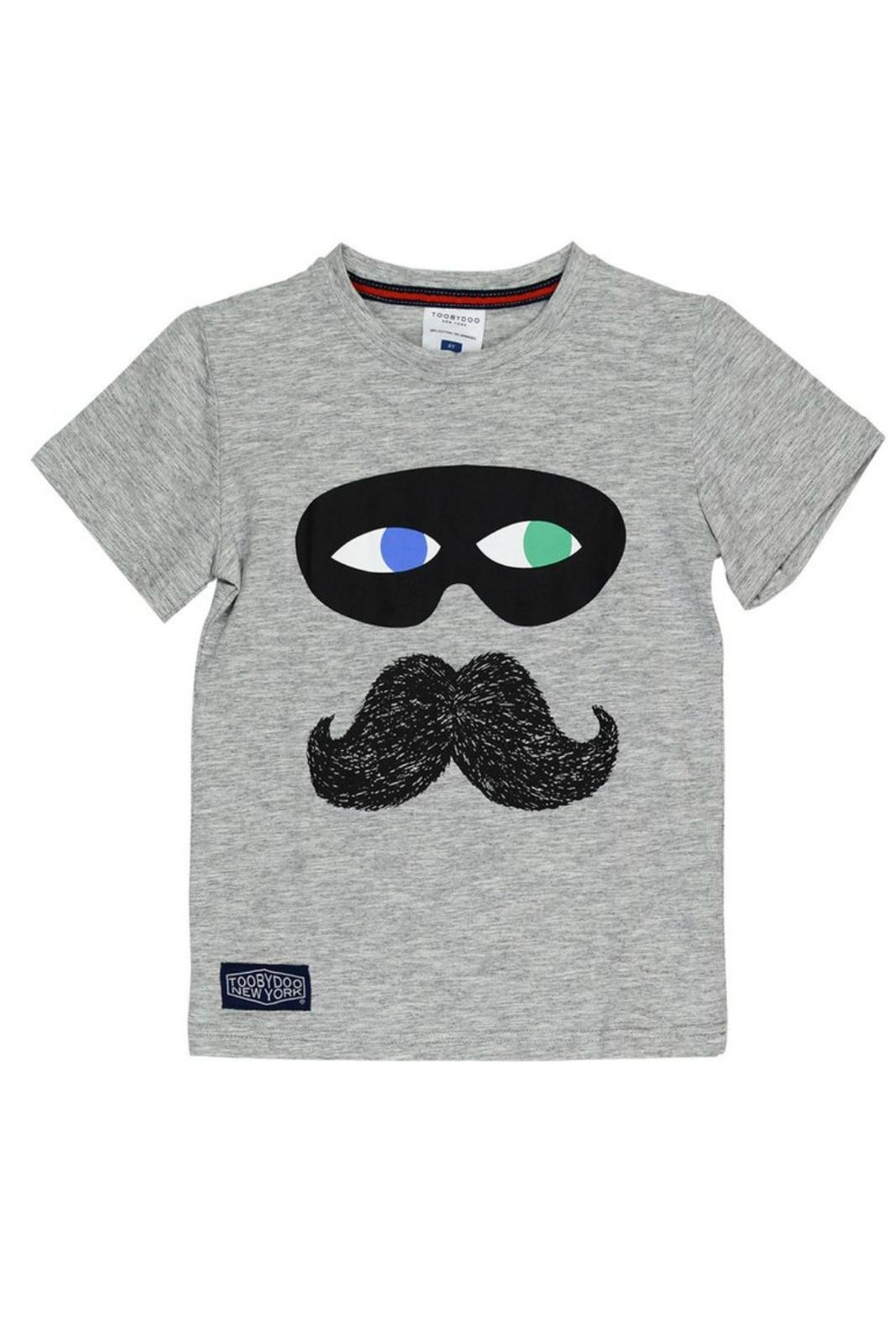 Toobydoo Captain Mustache Tee - Main Image