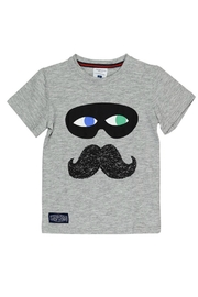 Toobydoo Captain Mustache Tee - Front cropped