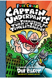 Scholastic Captain Underpants And The Terrifying Return Of Tippy Tinkletrousers #9 (Color Edition) - Product Mini Image