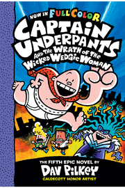 Scholastic Captain Underpants And The Wrath Of The Wicked Wedgie Woman #5 (Color Edition) - Product Mini Image