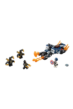 LEGO Captian America: Outriggers Attack - Product List Image