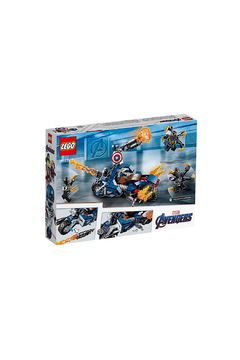 LEGO Captian America: Outriggers Attack - Alternate List Image