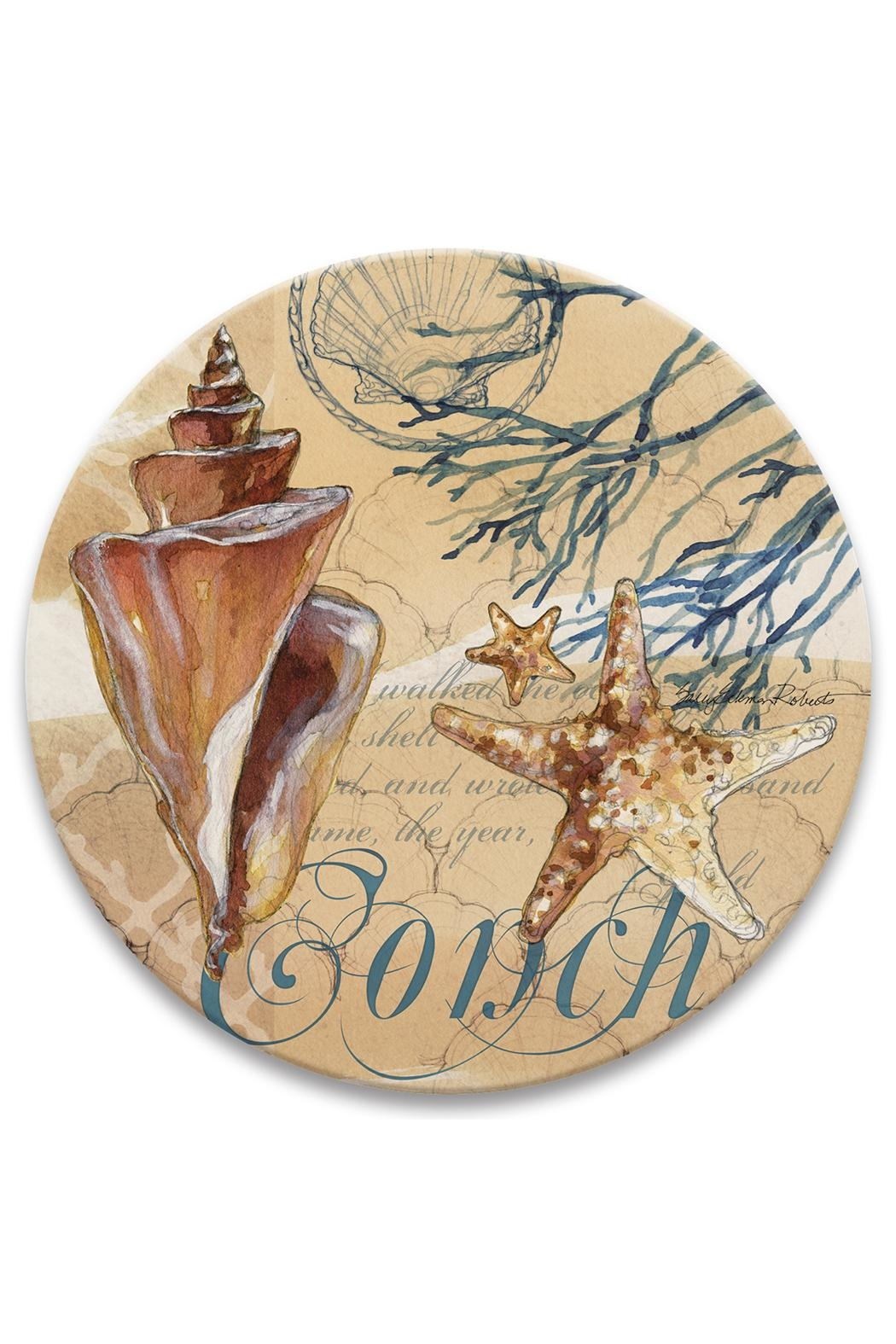 Coasterstone Captiva Conch Trivet - Front Cropped Image
