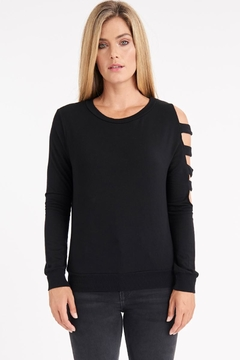 LA Made Captivate Open-Arm Top - Product List Image