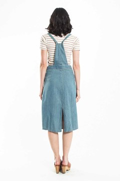 Shoptiques Product: Baby Blues Overall Dress
