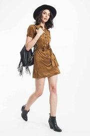 Capulet Fawn Dress - Product Mini Image