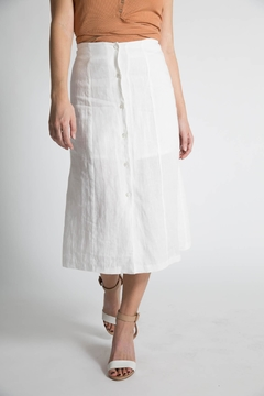 Capulet Cassia Button Down Skirt - Product List Image