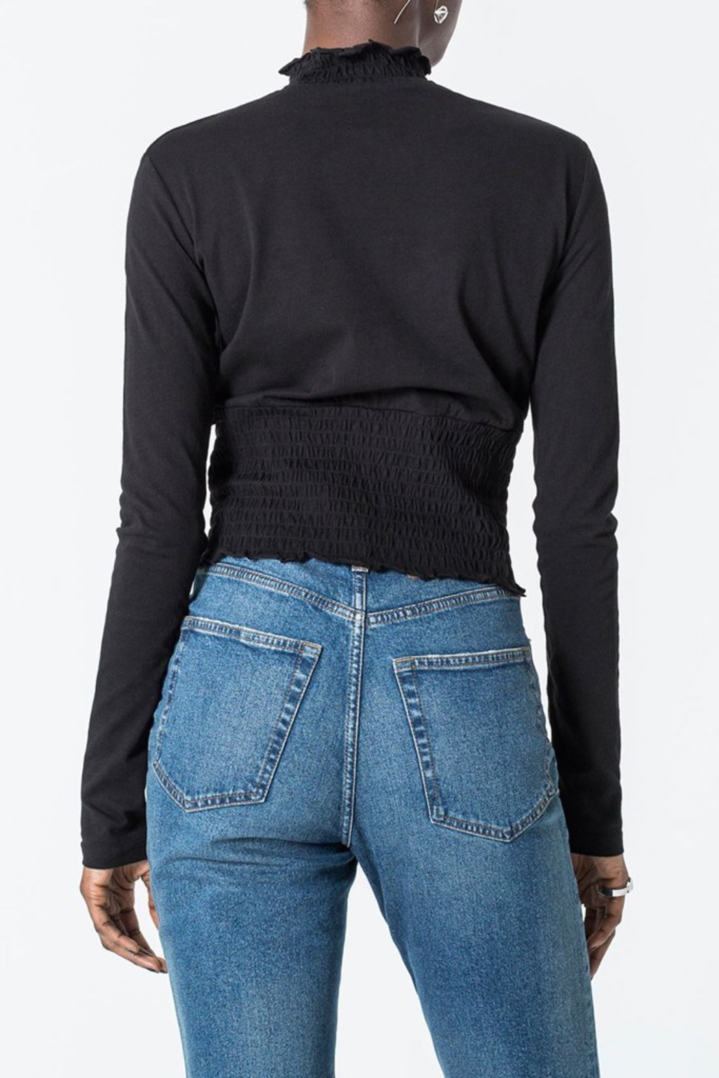 Capulet Cheap Monday Engage Top - Back Cropped Image