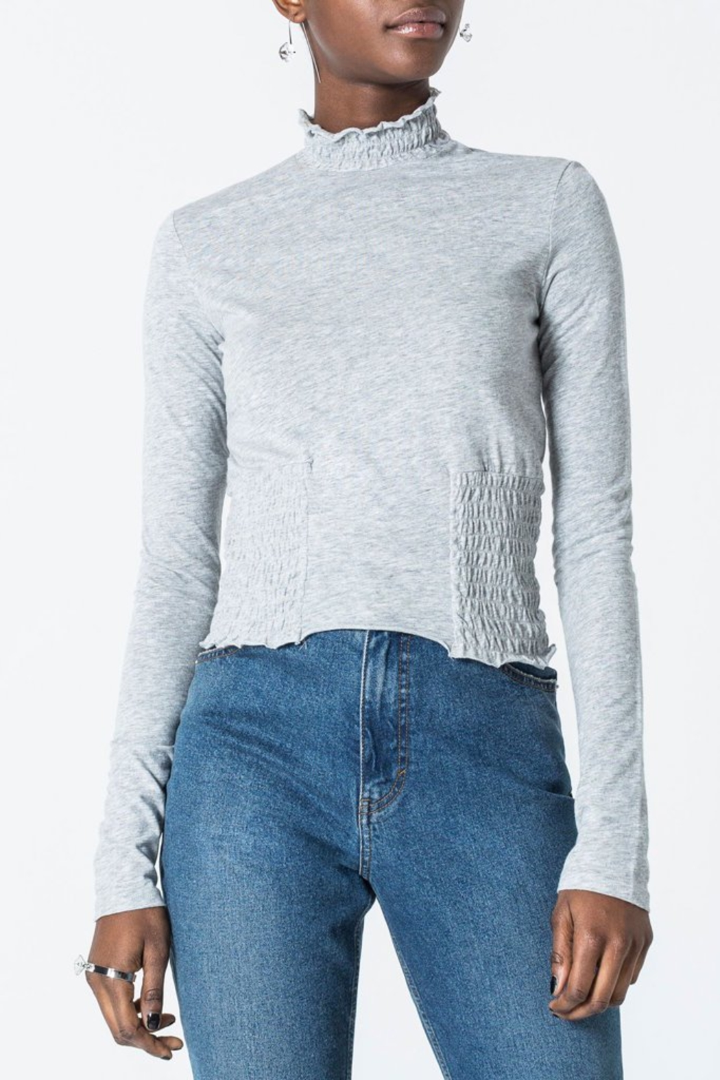 Capulet Cheap Monday Engage Top - Front Cropped Image