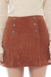 Capulet Suede Mini Skirt - Other