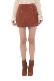 Capulet Suede Mini Skirt - Side cropped