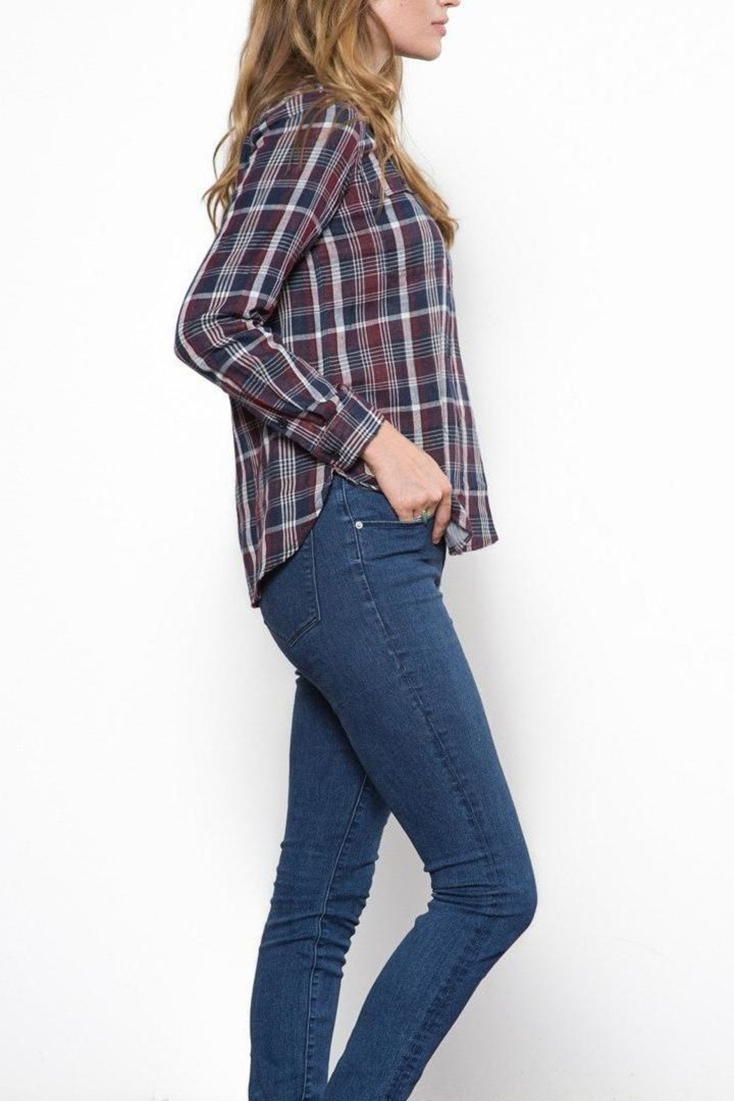 Capulet The Kaia Buttondown Top - Side Cropped Image