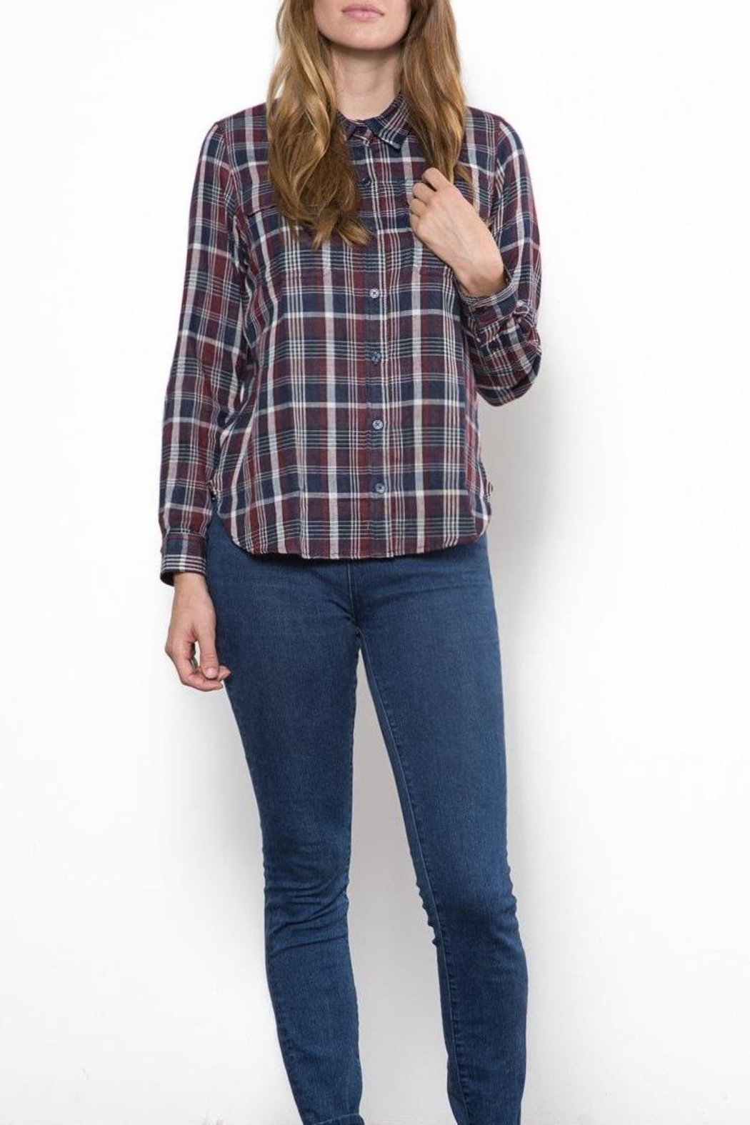 Capulet The Kaia Buttondown Top - Front Cropped Image