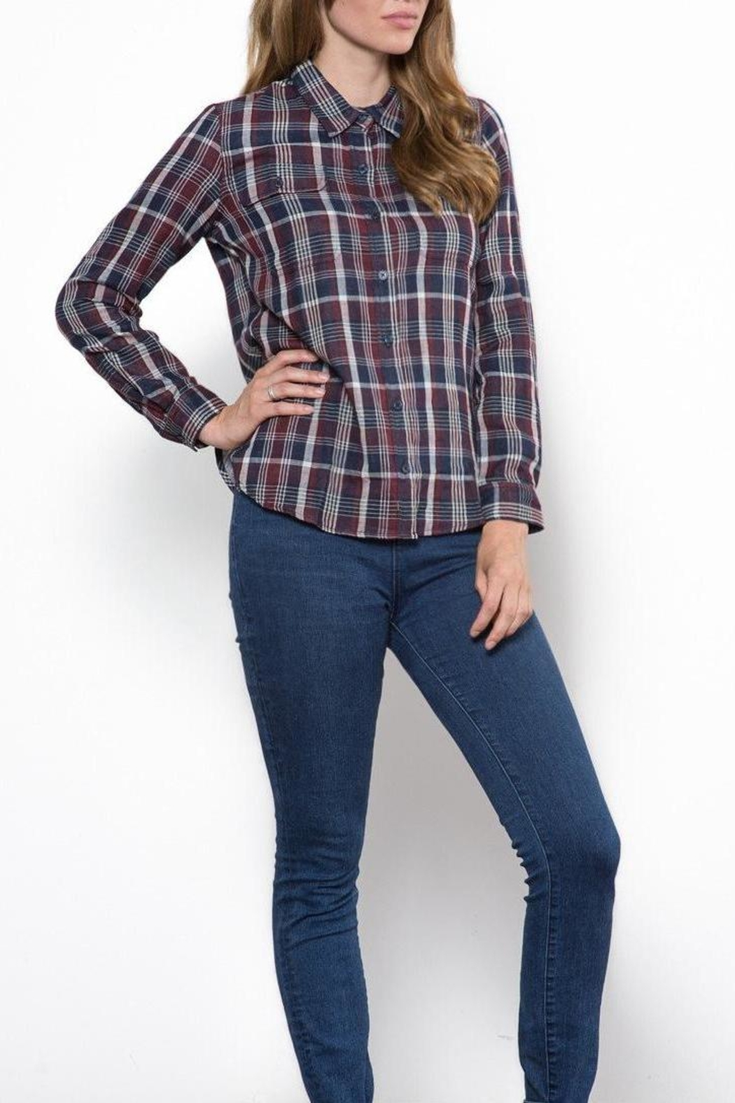 Capulet The Kaia Buttondown Top - Front Full Image
