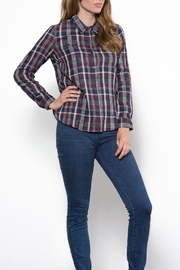 Capulet The Kaia Buttondown Top - Front full body