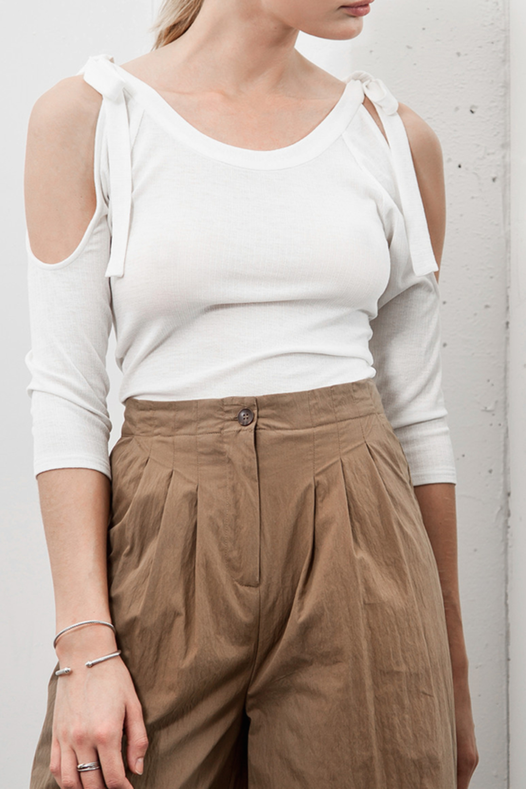Capulet Tie Top - Front Cropped Image