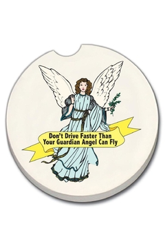 Diane's Accessories Car Coaster - Angel - Product List Image