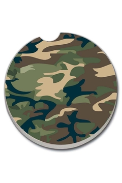 Diane's Accessories Car Coaster - Camouflage - Alternate List Image