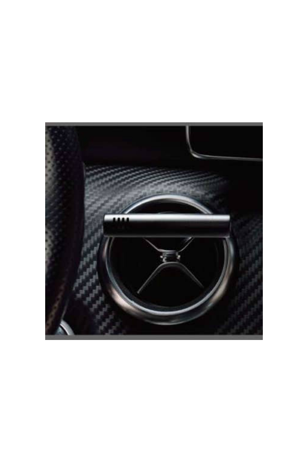 SERENE HOUSE CAR SCENT VENT CLIP DIFFUSER - WHITE - Side Cropped Image