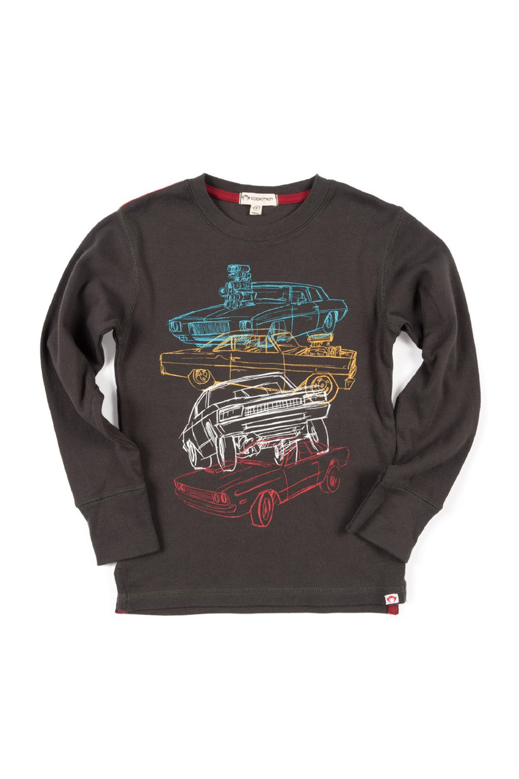 Appaman Car Stack Long Sleeve Tee - Main Image