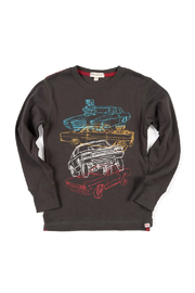Appaman Car Stack Long Sleeve Tee - Front cropped