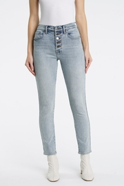 Pistola Cara Straight Leg Jeans in Jolie - Front full body