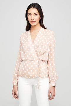 L'Agence Cara Wrap Blouse - Product List Image