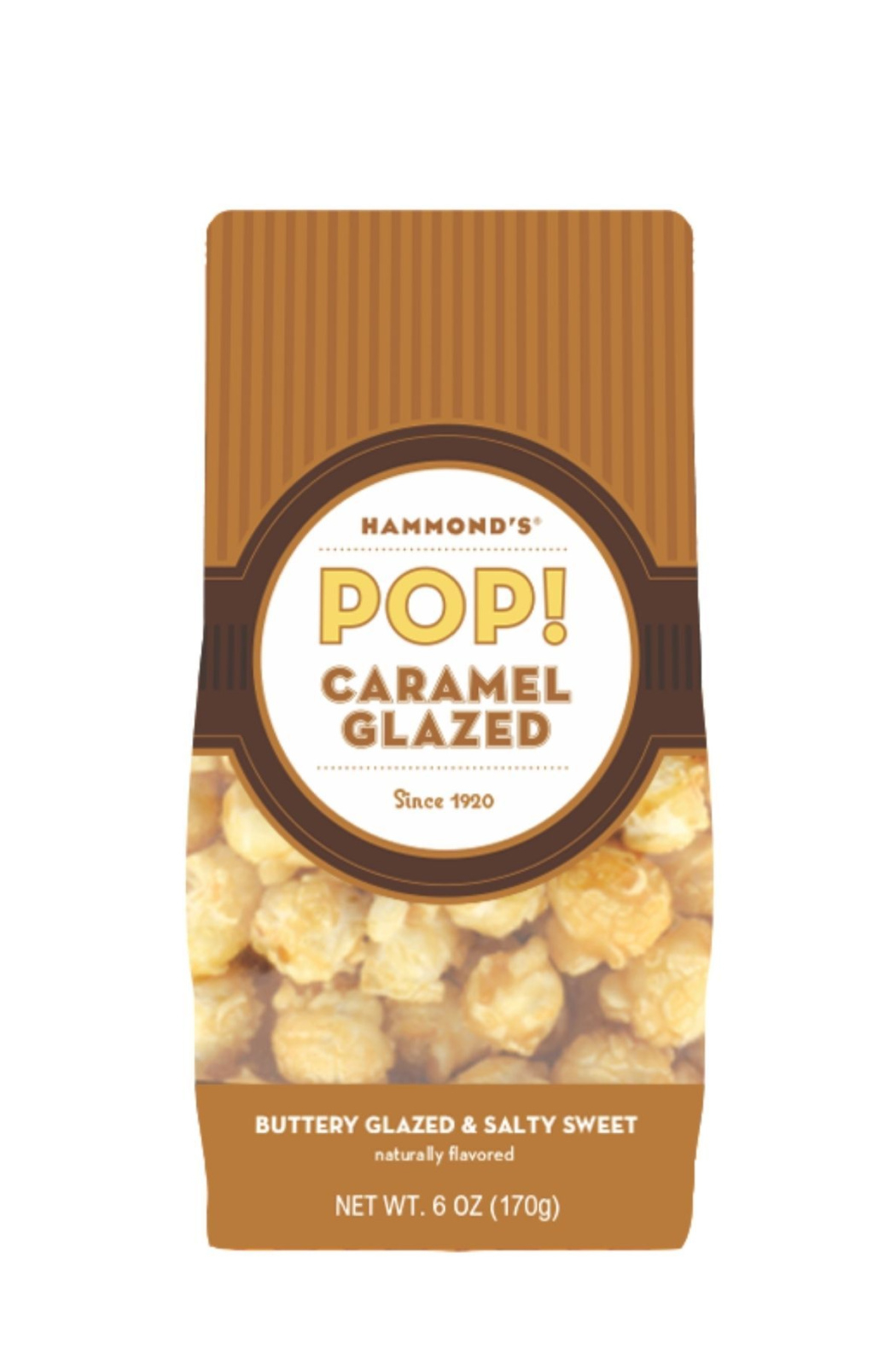Hammond's Candies CARAMEL CORN POPCORN - Front Cropped Image