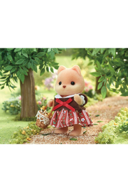 Calico Critters Caramel Dog Family - Side cropped
