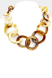 Embellish Caramel Links Necklace - Product Mini Image