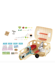 Calico Critters Caravan Family Camper - Front cropped