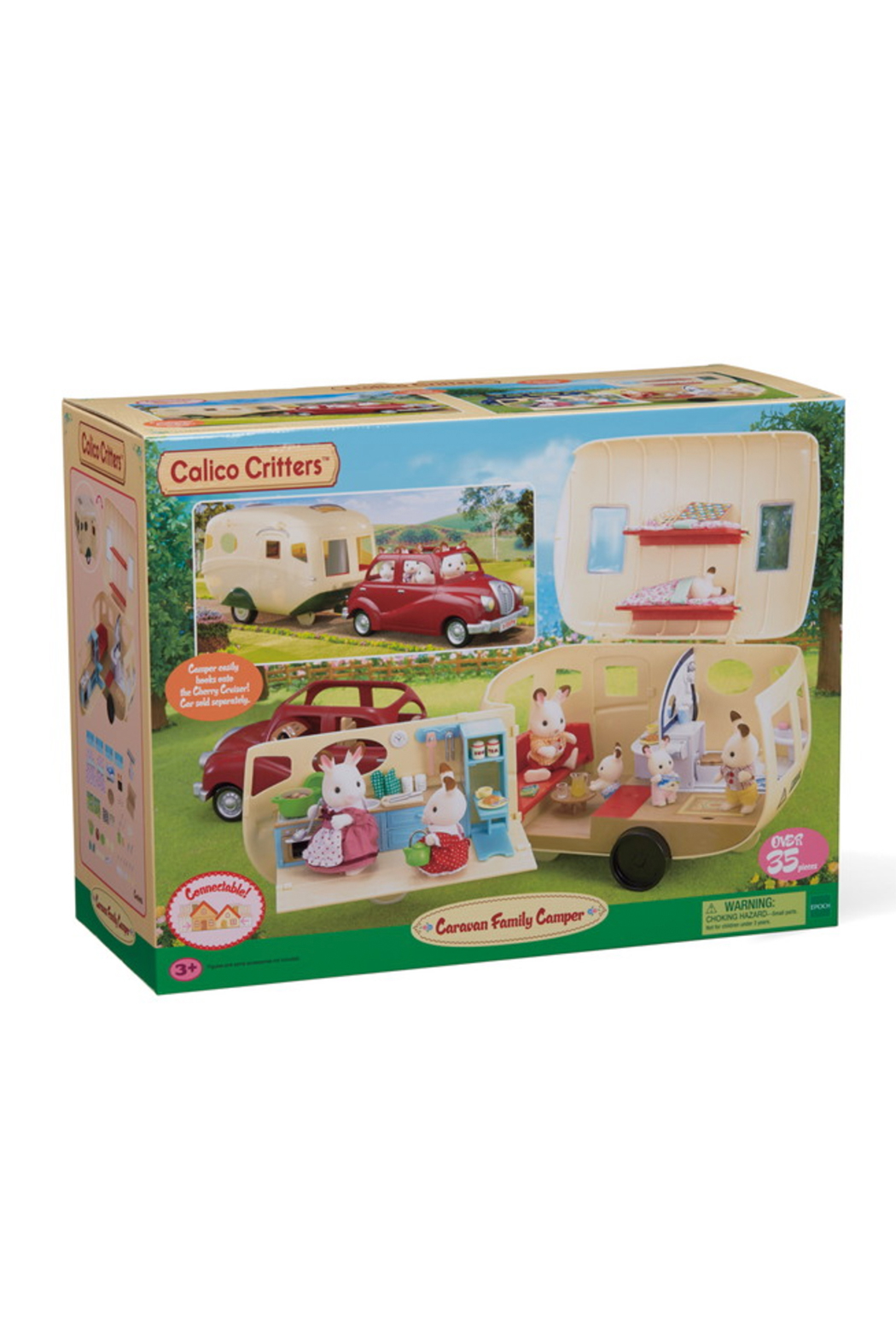 Calico Critters Caravan Family Camper - Front Full Image