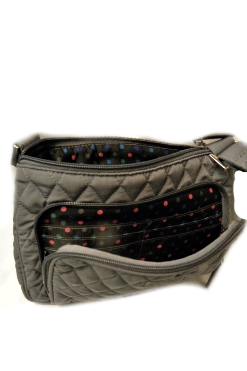 Vera Bradley Carbon Gray Little hipster - Side Cropped Image
