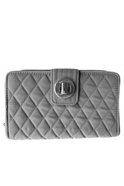 Vera Bradley Carbon Gray Turnlock - Product Mini Image