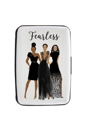 African American Expressions Card Holder Fearless - Front cropped