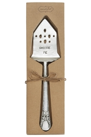 Mud Pie Carded Pie Server - Product Mini Image