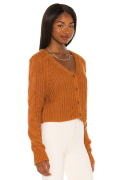 525 America Cardigan Cable Sleeve Amber - Product List Image