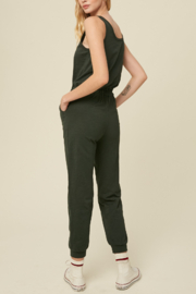 Listicle Cardigan Jumpsuit Set - Front full body