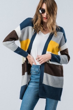 Trend:notes Cardigan Multi - Product List Image