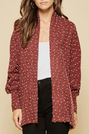 Andree by Unit Cardigan sweater - Front cropped