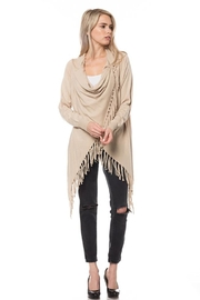 Lovetree Cardigan With Fringe - Product Mini Image